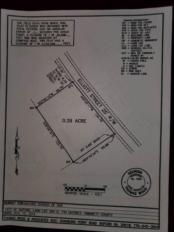 490 Elliott Street, Buford, GA 30518 (MLS #6648330) :: Compass Georgia LLC