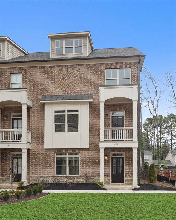 1200 Stone Castle Circle #01, Smyrna, GA 30080 (MLS #6651822) :: North Atlanta Home Team