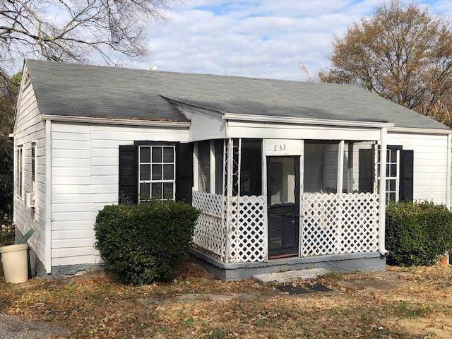 233 Upshaw Street SW, Atlanta, GA 30315 (MLS #6654847) :: RE/MAX Prestige