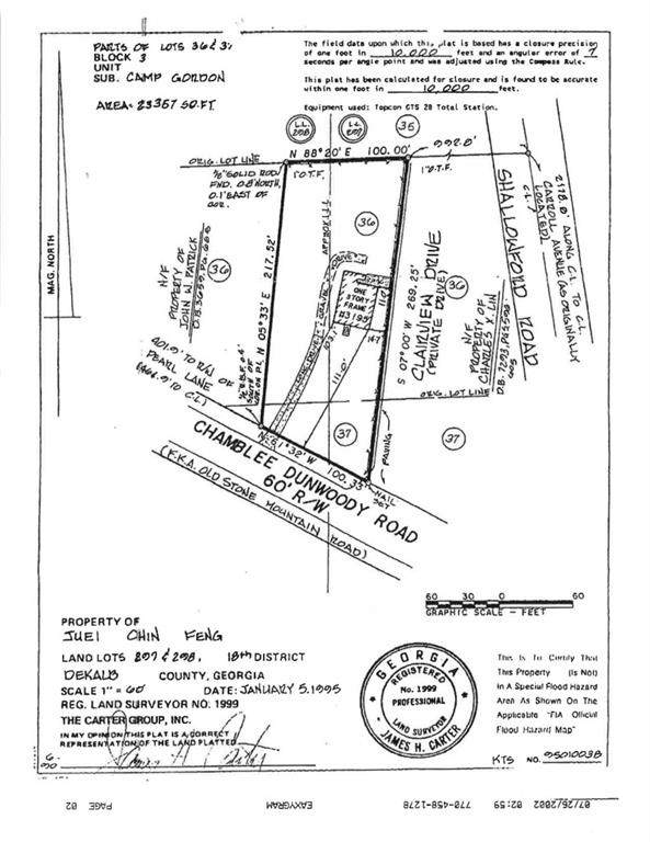 3195 Chamblee Dunwoody Road, Chamblee, GA 30341 (MLS #6656303) :: Good Living Real Estate