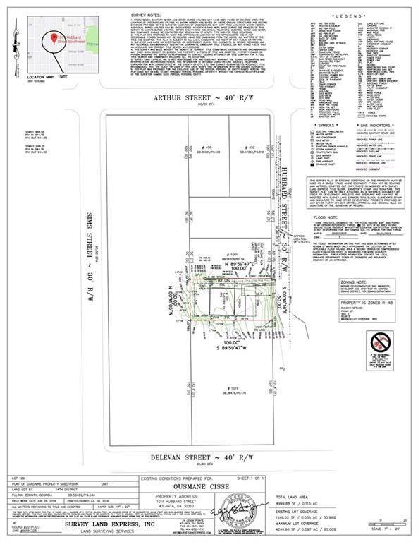 1011 Hubbard Street SW, Atlanta, GA 30310 (MLS #6663595) :: North Atlanta Home Team