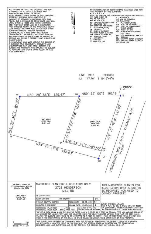 2736 Henderson Mill Road, Chamblee, GA 30341 (MLS #6665089) :: Team RRP   Keller Knapp, Inc.