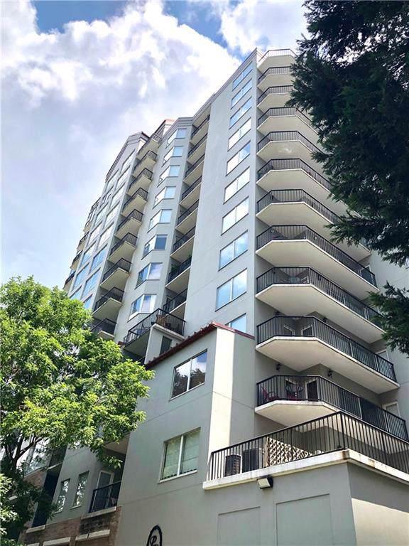275 13th Street NE #705, Atlanta, GA 30309 (MLS #6667756) :: Charlie Ballard Real Estate