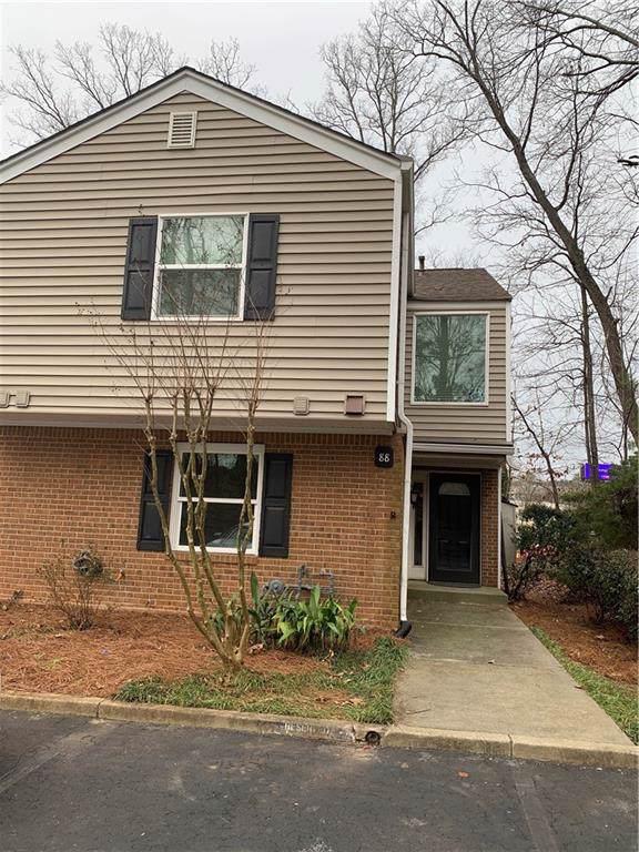 88 Dunwoody Springs Drive A, Atlanta, GA 30328 (MLS #6671102) :: Charlie Ballard Real Estate