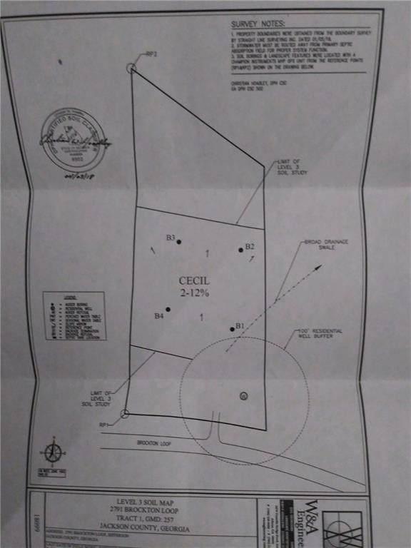2791 Brockton Loop, Jefferson, GA 30549 (MLS #6671432) :: Charlie Ballard Real Estate