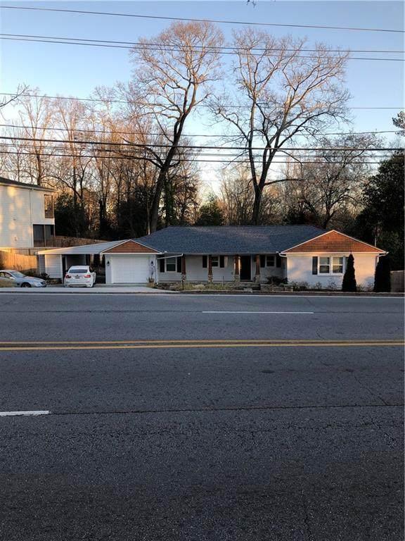 2169 Clairmont Road NE, Decatur, GA 30033 (MLS #6685203) :: The Zac Team @ RE/MAX Metro Atlanta