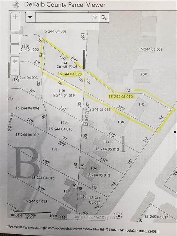 144 Scott Boulevard, Decatur, GA 30030 (MLS #6687542) :: The Zac Team @ RE/MAX Metro Atlanta