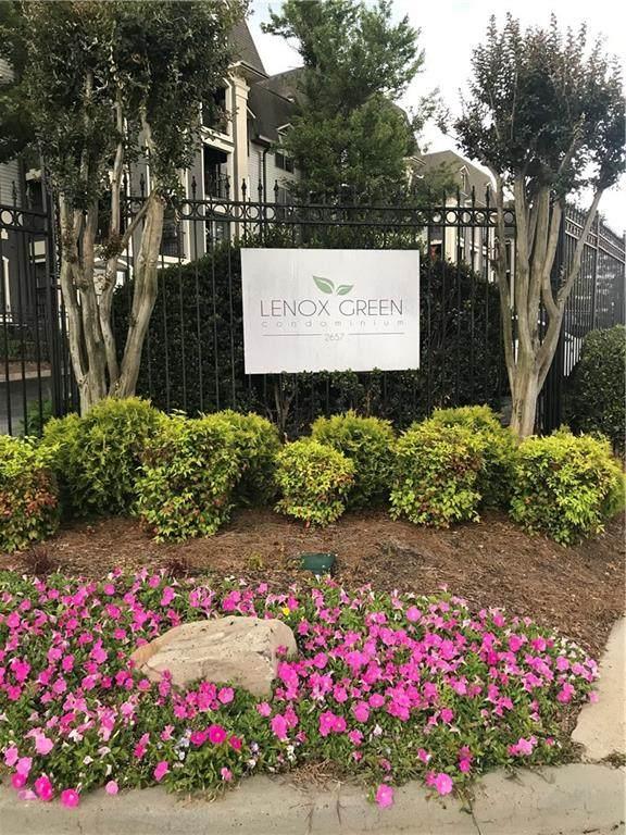 2657 Lenox Road NE G94, Atlanta, GA 30324 (MLS #6725592) :: RE/MAX Paramount Properties