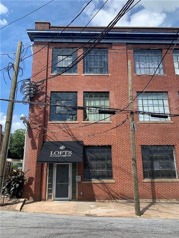 172 Haynes Street SW #103, Atlanta, GA 30313 (MLS #6745977) :: Path & Post Real Estate