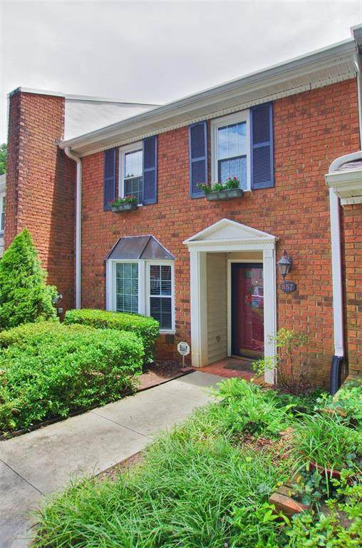 857 Heritage Two #857, Decatur, GA 30033 (MLS #6761957) :: AlpharettaZen Expert Home Advisors