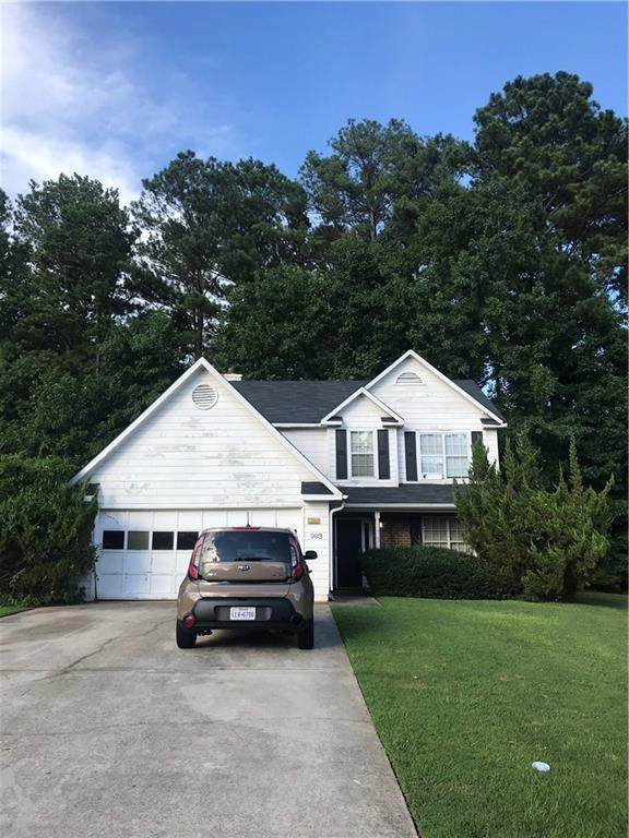 993 Briarberry Lane, Riverdale, GA 30296 (MLS #6767270) :: Maria Sims Group