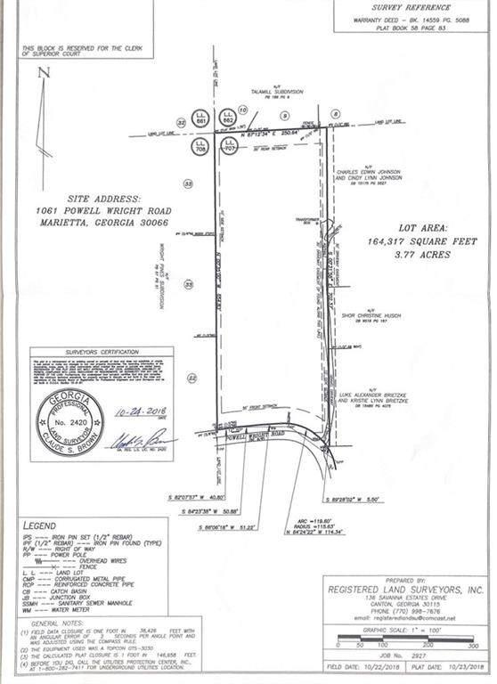 1061 Powell Wright Road, Marietta, GA 30066 (MLS #6775761) :: Path & Post Real Estate