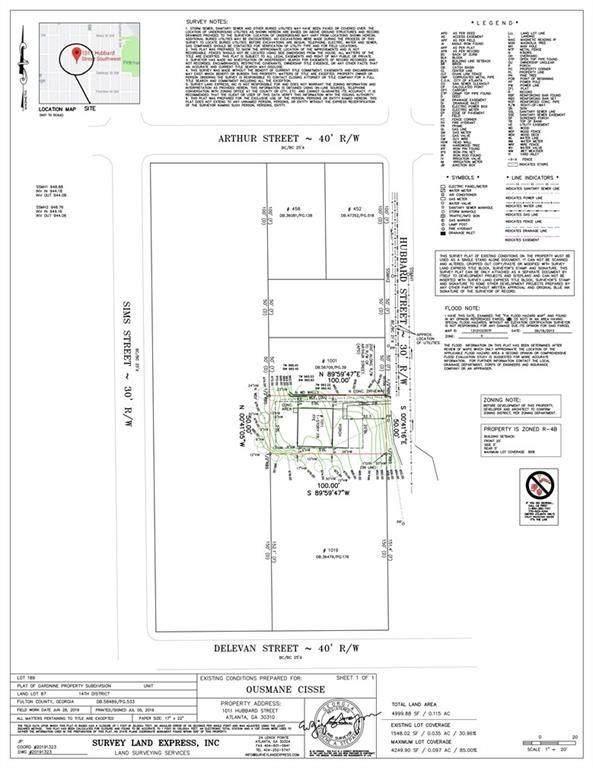 1011 Hubbard Street SW, Atlanta, GA 30310 (MLS #6782020) :: Good Living Real Estate