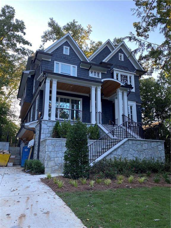1021 Reeder Circle NE, Atlanta, GA 30306 (MLS #6788365) :: Team RRP | Keller Knapp, Inc.