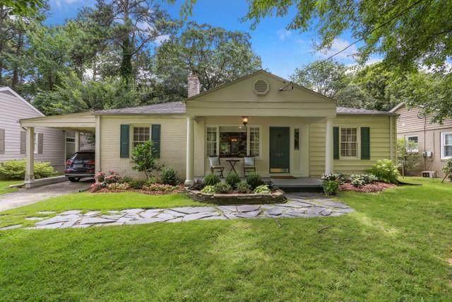 707 Burke Road NE, Atlanta, GA 30305 (MLS #6798899) :: Tonda Booker Real Estate Sales