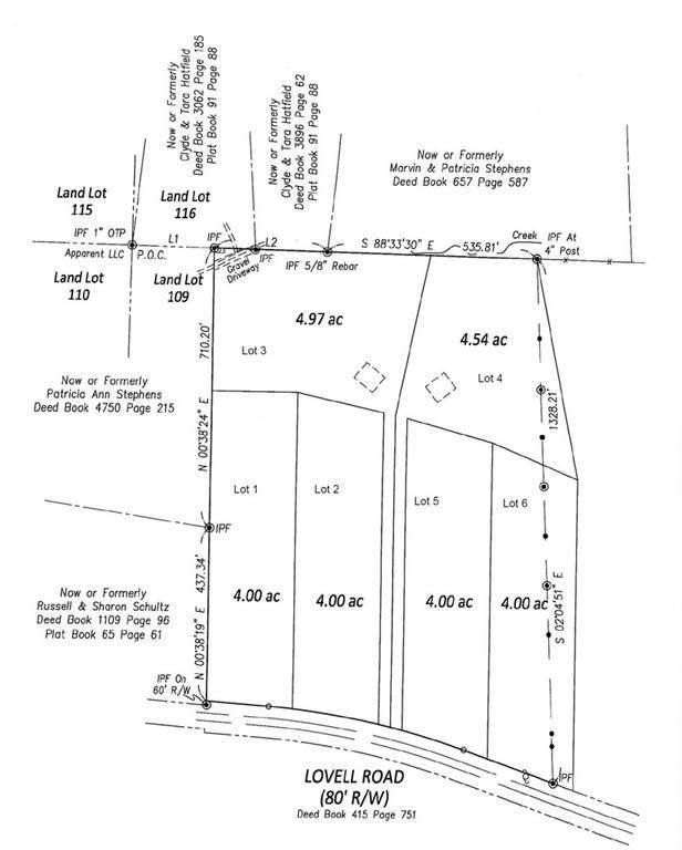 Lot 3 Lovell Road, Temple, GA 30179 (MLS #6801967) :: Lakeshore Real Estate Inc.