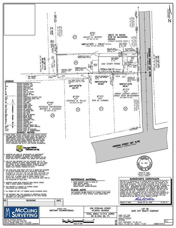 336 Sterling Street NE, Atlanta, GA 30307 (MLS #6813841) :: RE/MAX Paramount Properties