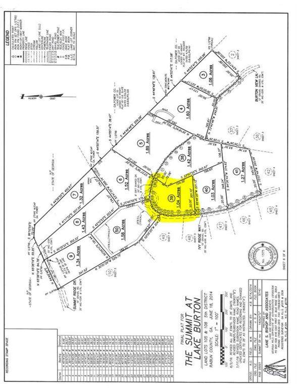 lot 39 Ivy Ridge Way, Clarkesville, GA 30523 (MLS #6820441) :: KELLY+CO