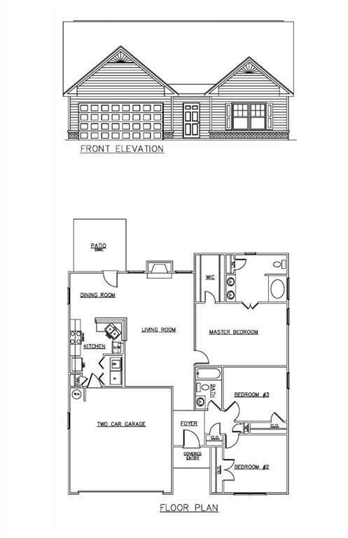 Lot 3 Rowell Road, Rockmart, GA 30153 (MLS #6831640) :: North Atlanta Home Team