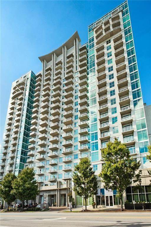 250 NE Pharr Road NE #1905, Atlanta, GA 30305 (MLS #6834452) :: The Gurley Team