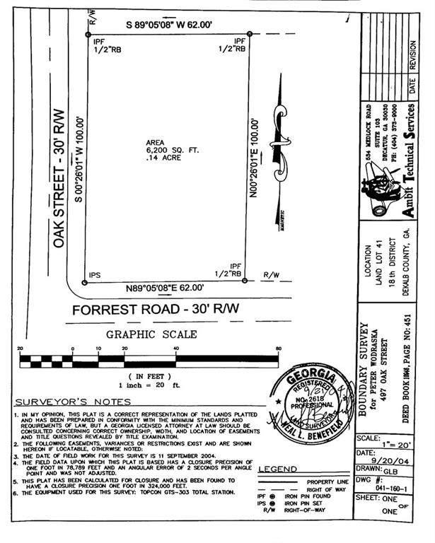 4540 Forrest Road, Pine Lake, GA 30072 (MLS #6857030) :: Thomas Ramon Realty