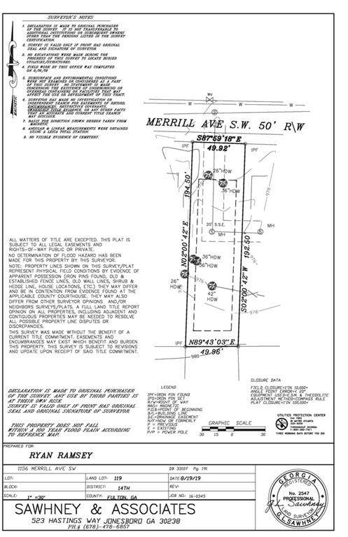 1156 Merrill Avenue SW, Atlanta, GA 30310 (MLS #6865976) :: Thomas Ramon Realty