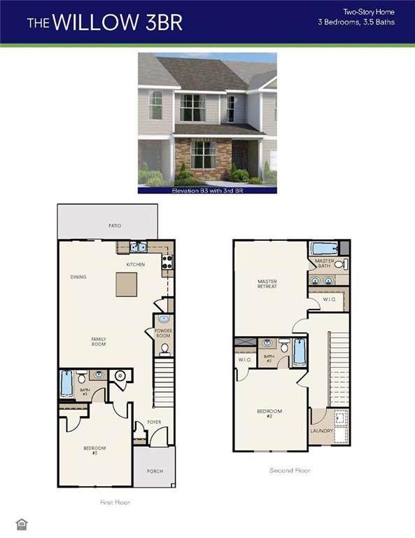 6277 Trickle Bend #20, South Fulton, GA 30349 (MLS #6867080) :: North Atlanta Home Team