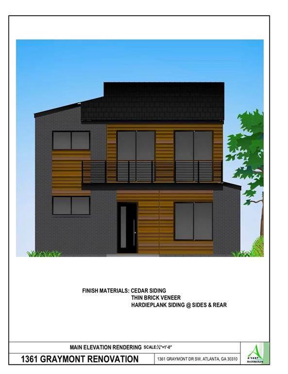 1361 Graymont Drive SW, Atlanta, GA 30310 (MLS #6869365) :: Path & Post Real Estate
