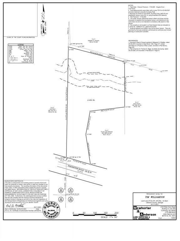 0 Perimeter Road, Dawsonville, GA 30534 (MLS #6883580) :: The Gurley Team