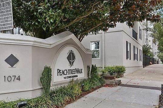 1075 Peachtree Walk NE A106, Atlanta, GA 30309 (MLS #6887052) :: RE/MAX Prestige