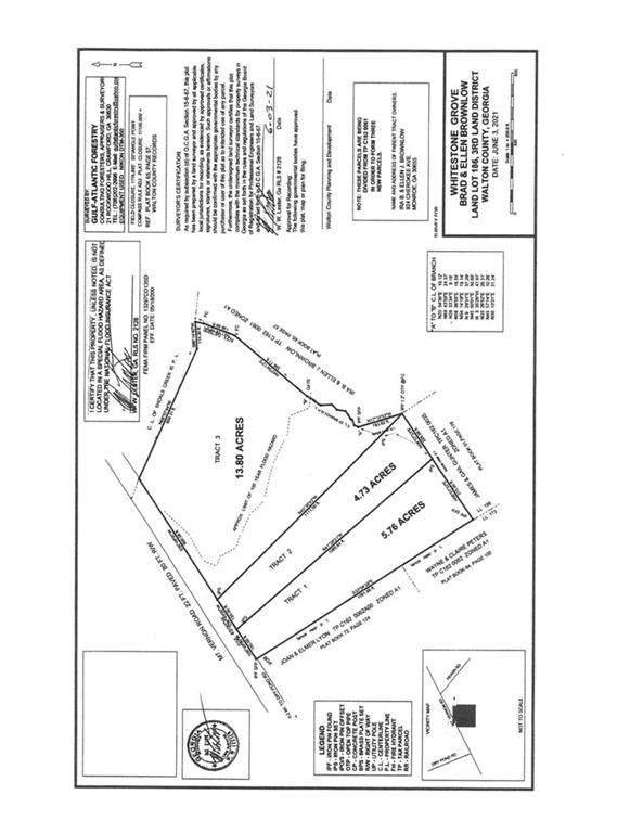 0 Mount Vernon Rd. Lot 3 Road, Monroe, GA 30655 (MLS #6897445) :: Lucido Global