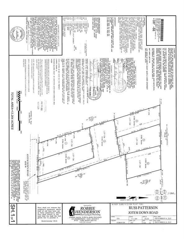 6885 Jot Em Down Road, Cumming, GA 30506 (MLS #6903456) :: The Justin Landis Group