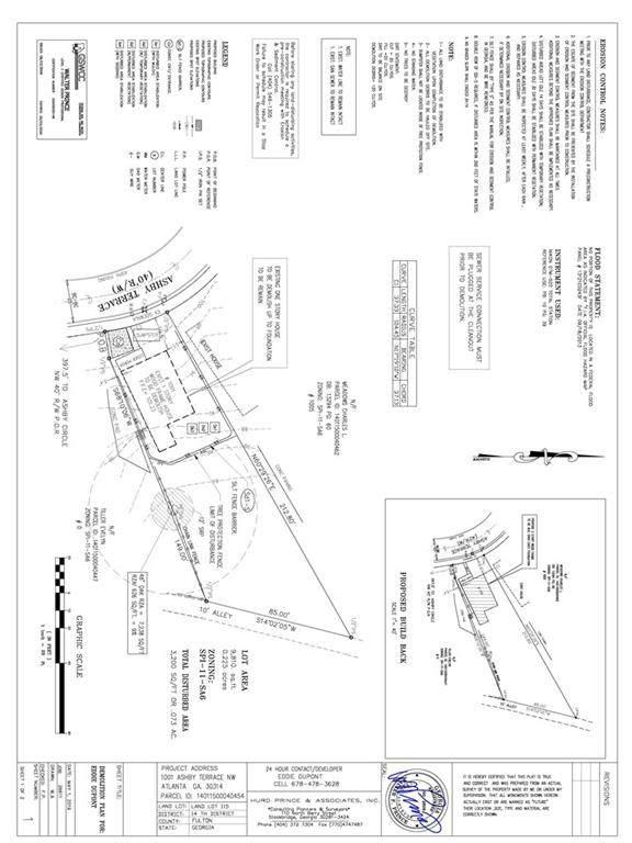 1001 Ashby Terrace NW, Atlanta, GA 30314 (MLS #6921897) :: The Durham Team