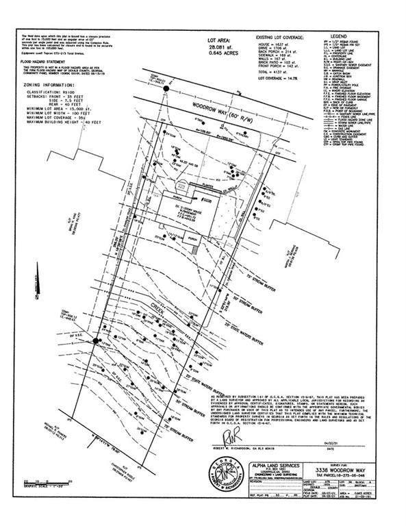 3338 Woodrow Way, Brookhaven, GA 30319 (MLS #6925083) :: RE/MAX Paramount Properties