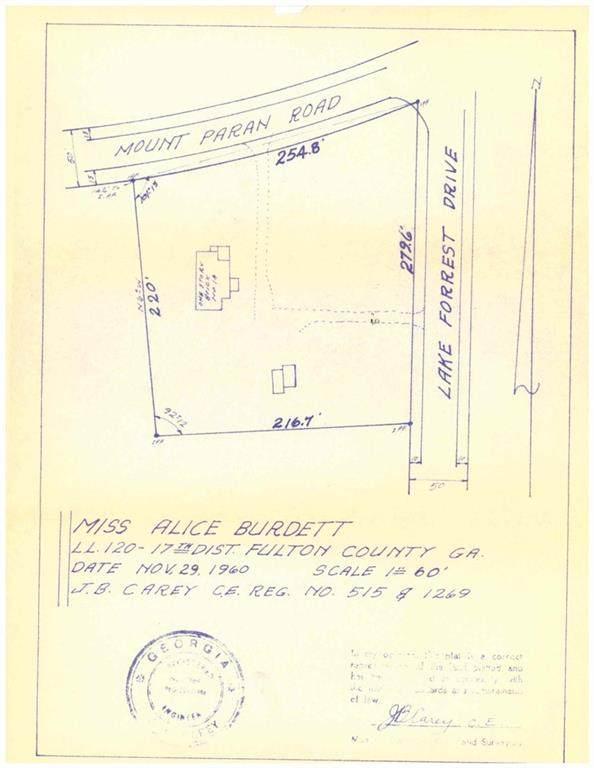 14 Mount Paran Road, Sandy Springs, GA 30327 (MLS #6931053) :: Lantern Real Estate Group