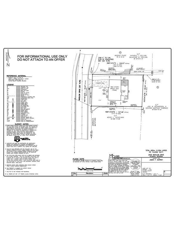 2609 Winslow Drive NE, Atlanta, GA 30305 (MLS #6947095) :: Virtual Properties Realty