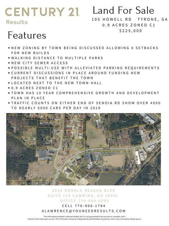 105 Howell Road, Tyrone, GA 30214 (MLS #6956761) :: Dawn & Amy Real Estate Team