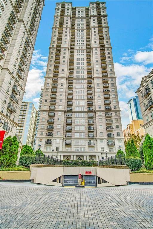195 14th Street NE #2802, Atlanta, GA 30309 (MLS #6958085) :: The Kroupa Team | Berkshire Hathaway HomeServices Georgia Properties