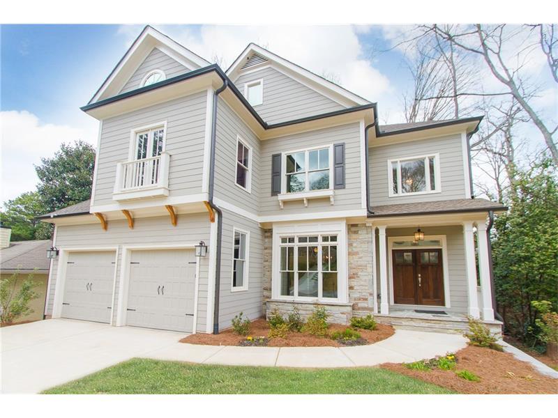 1360 Normandy Drive NE, Atlanta, GA 30306 (MLS #5651355) :: North Atlanta Home Team