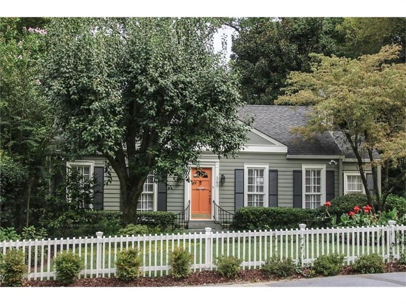349 Redland Road NW Na, Atlanta, GA 30309 (MLS #5667890) :: North Atlanta Home Team