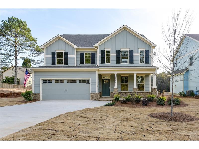 1670 Cumberland Club Road SW, Marietta, GA 30008 (MLS #5735896) :: North Atlanta Home Team