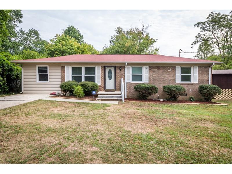 1247 Mountain View Drive, Marietta, GA 30062 (MLS #5744927) :: North Atlanta Home Team
