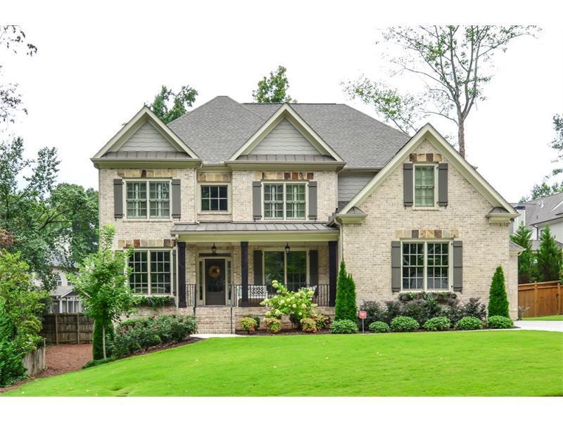1161 Haven Brook Way, Brookhaven, GA 30319 (MLS #5747127) :: North Atlanta Home Team