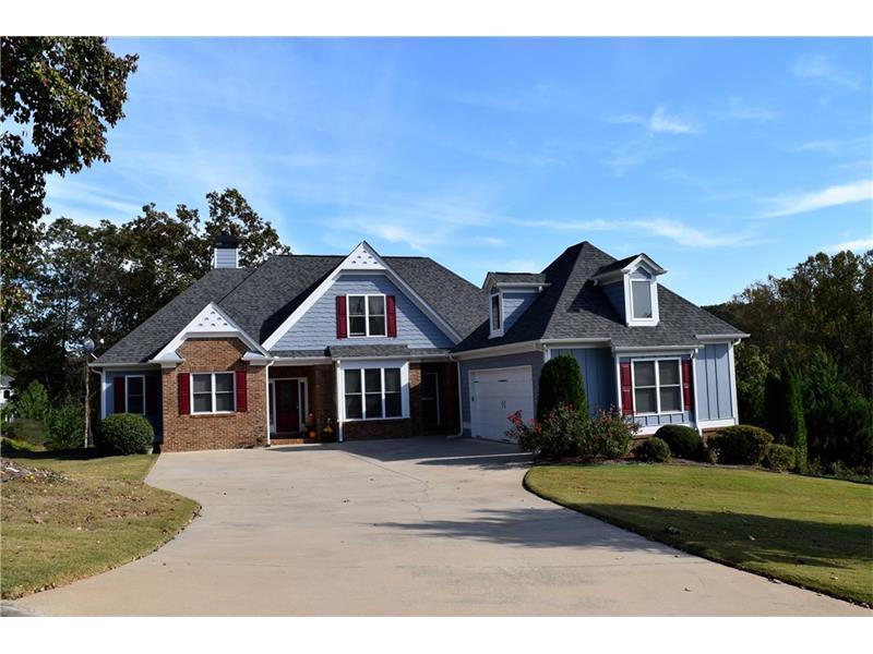 135 Harbour Ridge Drive, Dawsonville, GA 30534 (MLS #5758776) :: North Atlanta Home Team