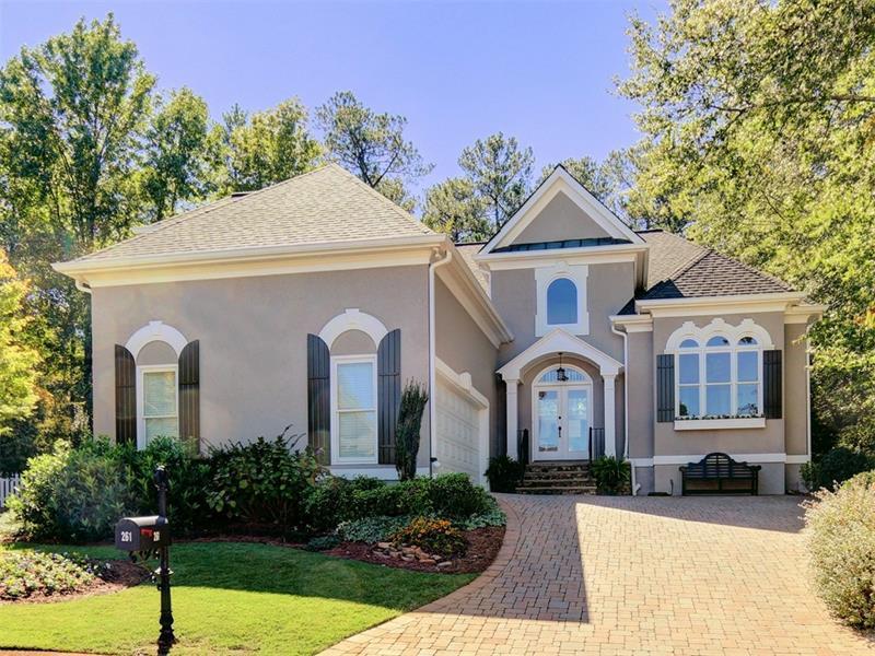 261 Powers Park Way NE, Marietta, GA 30067 (MLS #5760571) :: North Atlanta Home Team
