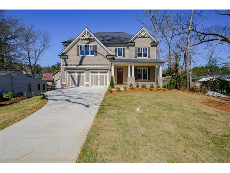 1884 Georgian Terrace, Brookhaven, GA 30341 (MLS #5805925) :: Carrington Real Estate Services