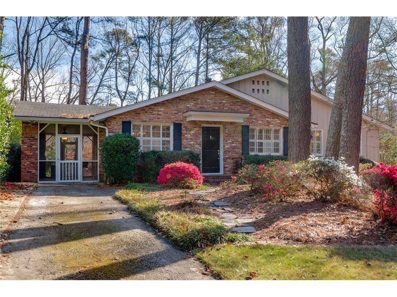 350 Allison Drive NE, Atlanta, GA 30342 (MLS #5806496) :: Carrington Real Estate Services