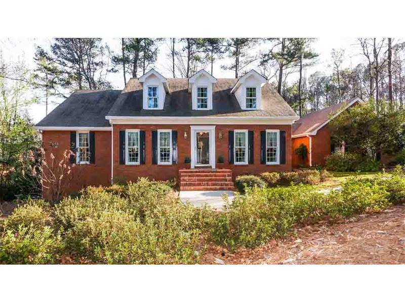 5911 Millstone Run, Smoke Rise, GA 30087 (MLS #5813695) :: Carrington Real Estate Services