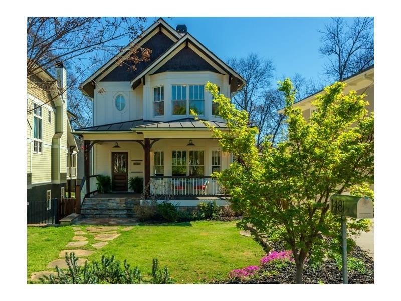 1481 Pine Street NW, Atlanta, GA 30309 (MLS #5817031) :: Carrington Real Estate Services