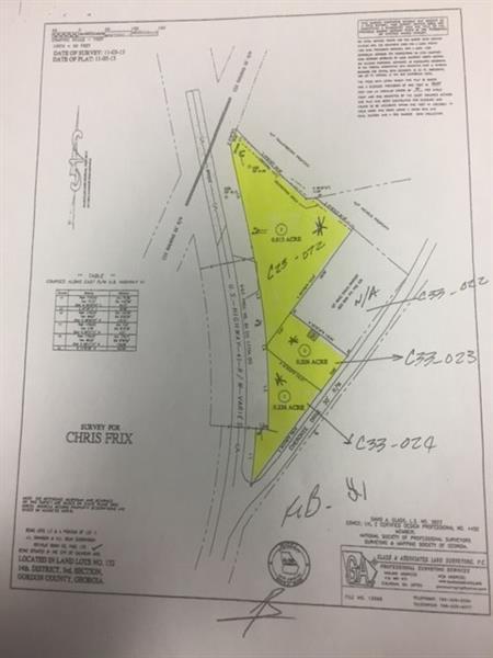 00 Us Hwy 41, Calhoun, GA 30701 (MLS #6023634) :: RE/MAX Paramount Properties